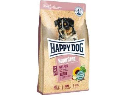 Happy Dog NaturCroq Welpen 15kg (štěňata 4-12 měsíců)