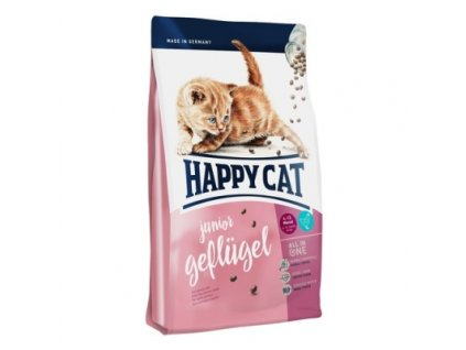 Happy cat Junior Geflügel 10kg