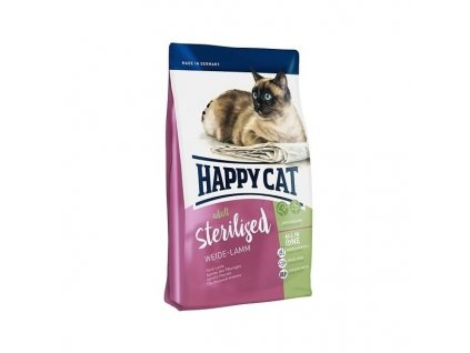 Happy cat Sterilised Weide-Lamm 10kg