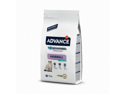 ADVANCE CAT Sterilized Hairball 10kg (expirace: 27.1.2021)