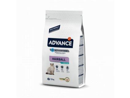 ADVANCE CAT Sterilized Hairball 10kg