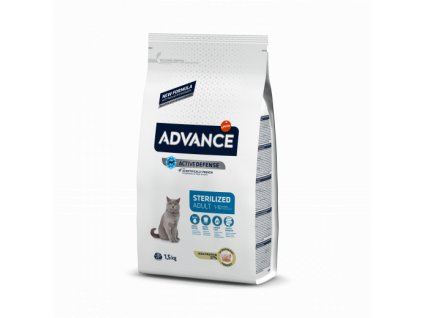 ADVANCE CAT Sterilized 15kg