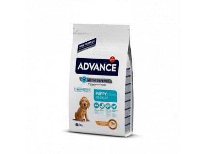 ADVANCE DOG MEDIUM Puppy Protect 12kg