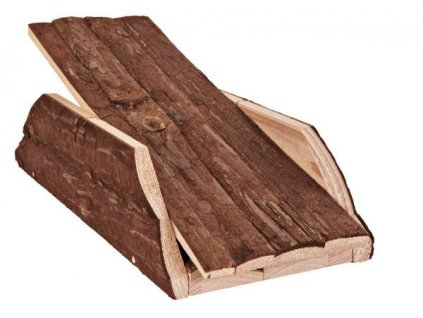 Huhubamboo Dřevěná houpačka