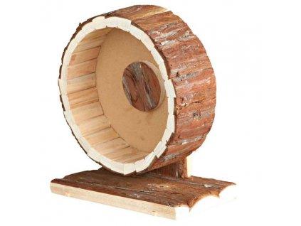 HUHU Dřevěný přírodní kolotoč 29cm