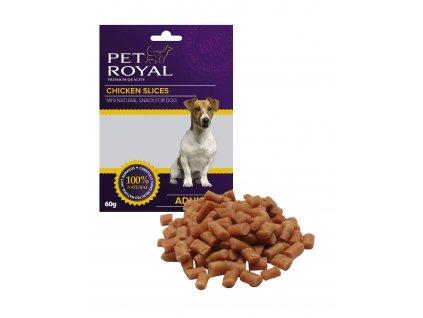 Pet Royal Dog Mini sticks kuřecí 60g (expirace: 10.7.2020)