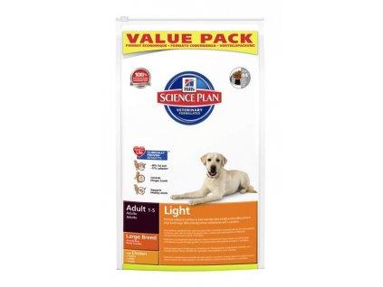Hills Canine Adult Light Large Breed Chicken 18kg (expirace: srpen 2020)