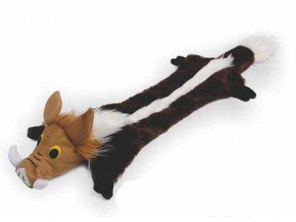 Hračka Divočák plyš-interaktiv 65cm pro psy