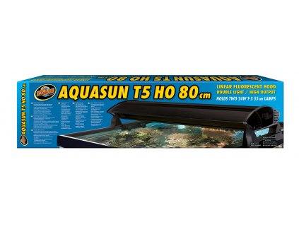 "ZooMed kryt AquaSun T5 """"High Output"""" 2x24W/80cm"""