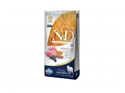 N&D Low Grain Adult Lamb & Blueberry 12kg