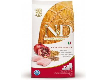 N&D Low Grain Puppy Chicken & Pomegranate 12kg