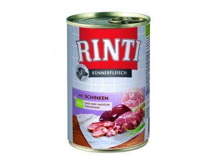 Finnern Rinti konzerva pro psy šunka 400g