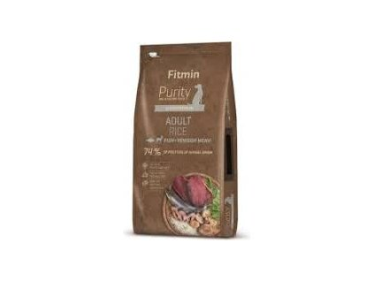 Fitmin dog Purity Rice Adult Fish&Venison - 12 kg