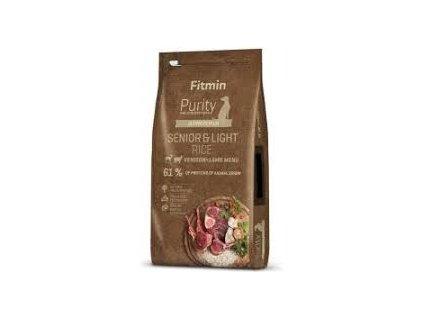 Fitmin dog Purity Rice Senior&Light Venison&Lamb - 12 kg