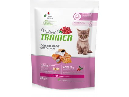 Trainer Natural Cat Kitten losos 300g
