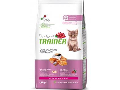 Trainer Natural Cat Kitten losos 1,5kg