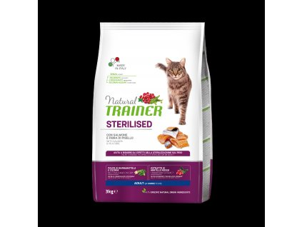 Trainer Natural Cat Sterilised losos 3kg
