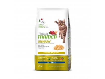 Trainer Natural Cat Urinary kuřecí 1,5kg