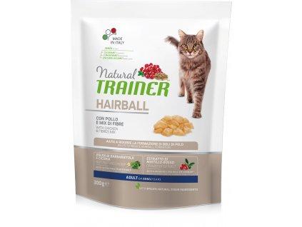 Trainer Natural Cat Hairball kuřecí 300g
