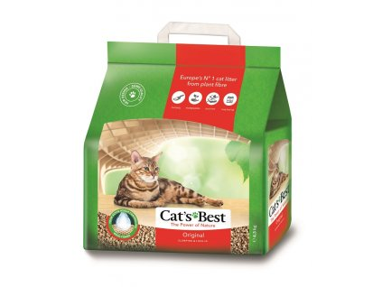 Cat's Best Original kočkolit 10l