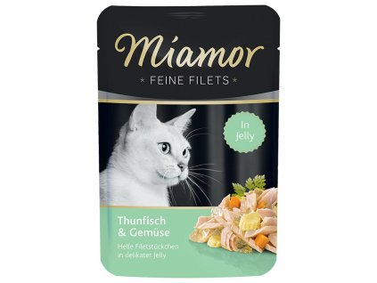 Finnern Miamor Fine Finest tuňák+zelenina kapsička 100g