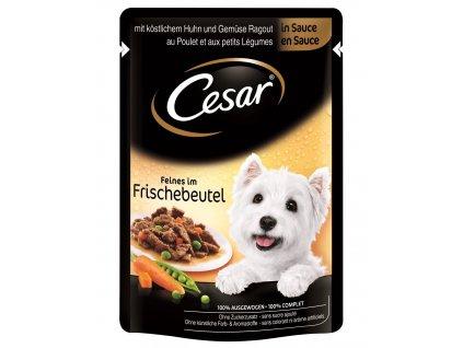 Cesar Selection kapsička kuřecí se zeleninou 100g