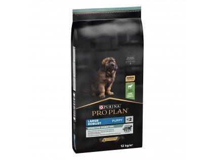 Purina Pro Plan Dog OptiDigest Large Breed Puppy Robust Sensitive Digestion jehně 12kg
