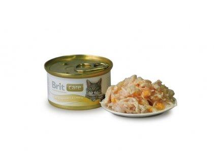 Brit Care konzerva Chicken&Cheese 80g