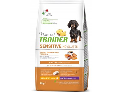 Trainer Natural Sensitive No gluten Maturity Mini losos 2kg