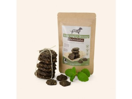 Biollie směs Woofingly Dreamy Chocolate Cookies mix 200g