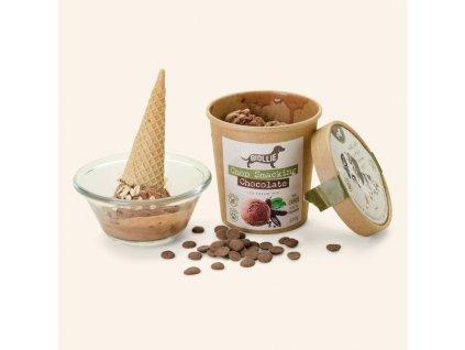 Biollie směs Chop Smacking Chocolate Ice cream mix 136g