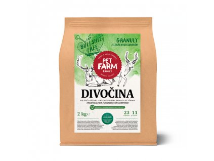 Pet Farm Family Granule divočina 150g