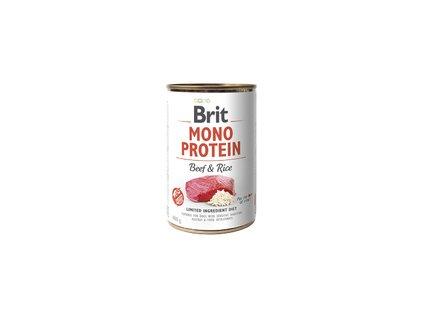Konzerva Brit Mono Protein Beef & Rice 400g