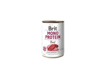 Konzerva Brit Mono Protein Beef 400g