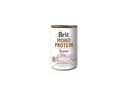 Konzerva Brit Mono Protein Rabbit 400g