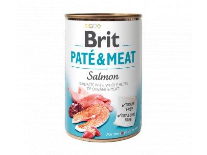 Konzerva Brit Pate & Meat Salmon 400g