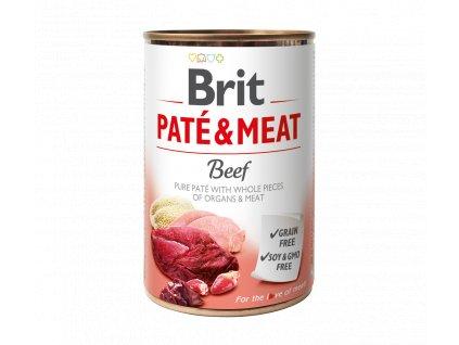 Konzerva Brit Pate & Meat Beef 400g