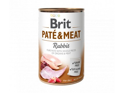 Konzerva Brit Pate & Meat Rabbit 400g
