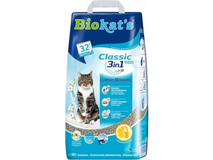 Podestýlka Biokat's Natural Cotton Blossom 10kg