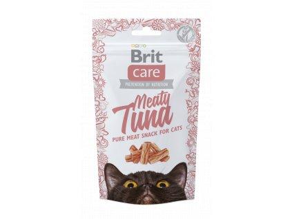 Brit Care Cat Snack Meaty Tuna 50g (expirace: 2.11.2021)