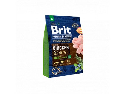 Brit Premium by Nature Adult XL 3kg