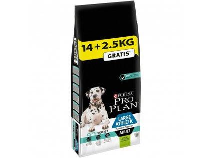 Purina Pro Plan Dog OptiDigest Adult Large Breed Athletic Sensitive Digestion 14+2,5kg zdarma
