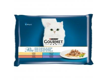 Kapsičky Gourmet Perle mini filetky ve štávě 4x85g