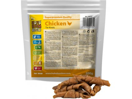 Huhubamboo  kuřecí uzel 200g