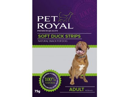 Pet Royal Dog Soft kachní nudličky 75g