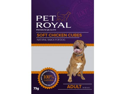 Pet Royal Dog Soft kuřecí kostky 75g