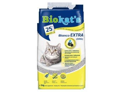 Podestýlka BIOKATS BIANCO Extra 5kg