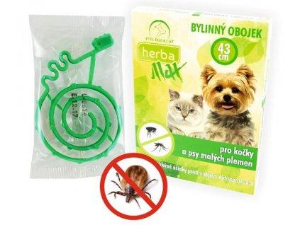 Herba Max antiparazitní obojek citrus kočka 43cm