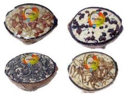 PERFECTO Bird kokos plněný, různé druhy 200g