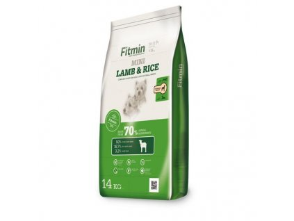 Fitmin dog mini lamb&rice 14kg